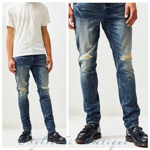 🔥PacSun Medium Indigo Stacked Skinny Jeans